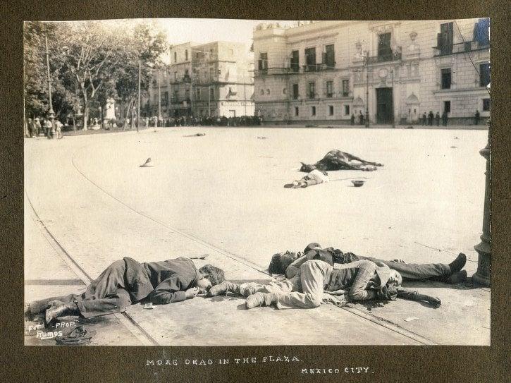 Mexican Revolution Dead Plaza