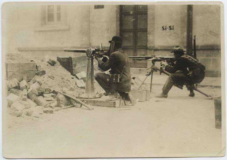Mexican Revolution Gunners
