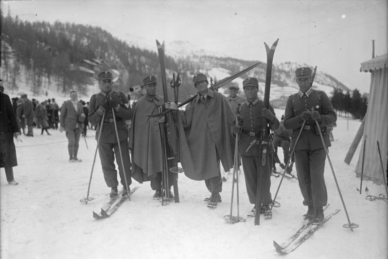 Military Patrol 1928 Olympics