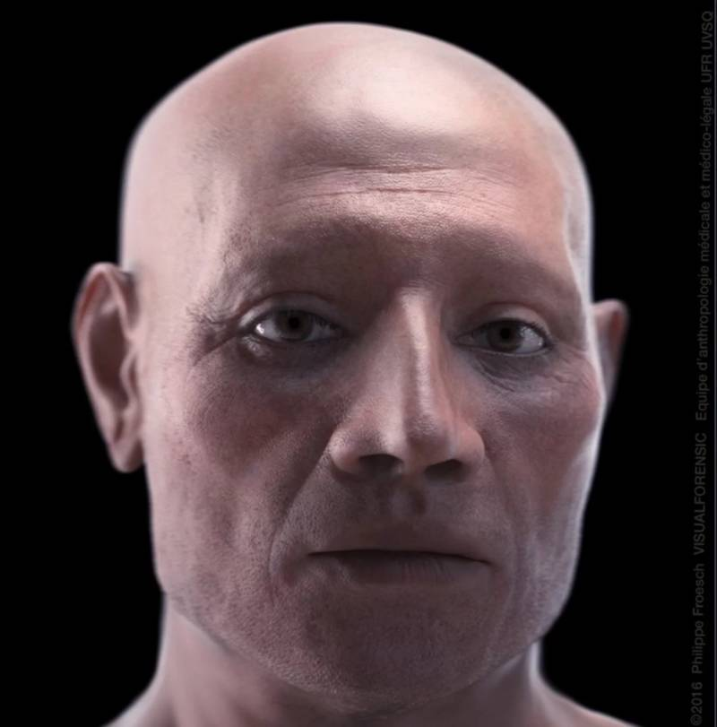 Mummy Reconstruction Nebiri