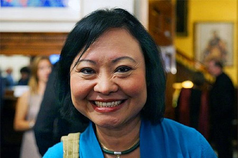 Napalm Girl Smiling Kim