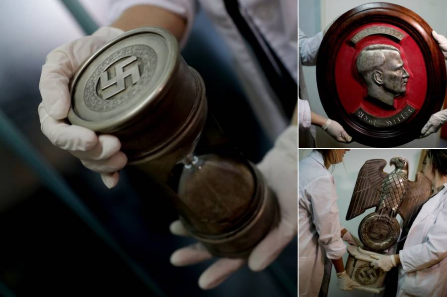 Nazi Artifacts Argentina Photos