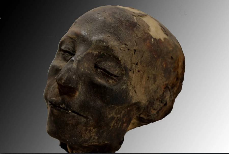 Nebiri Mummy Reconstruction