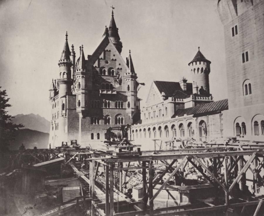 Neuschwanstein Construction