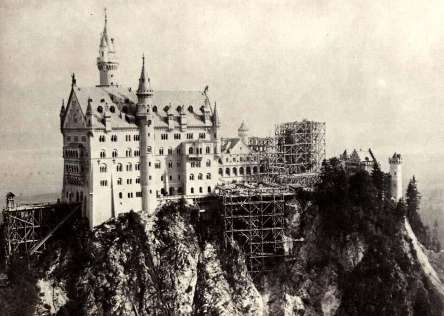 Neuschwanstein Under Construction