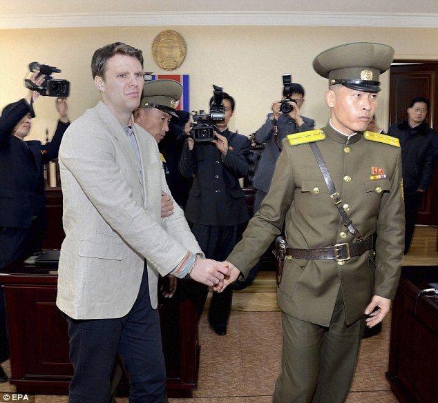North Korea Student Coma
