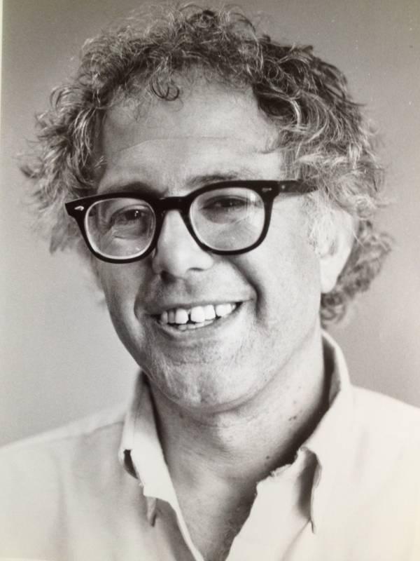 Old Bernie Sanders Photos Portrait