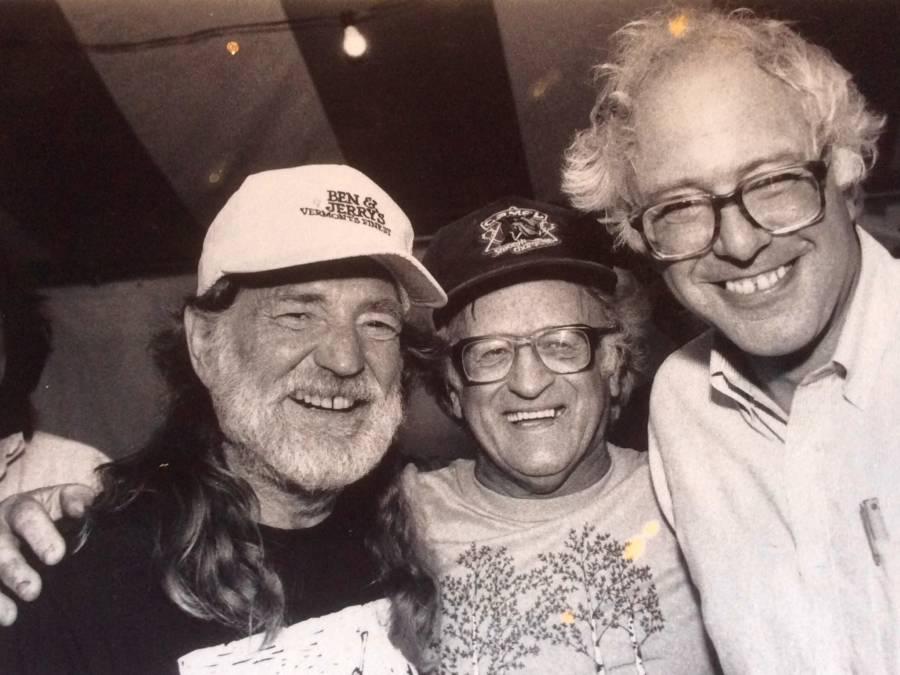 Old Bernie Sanders Photos Willie Nelson