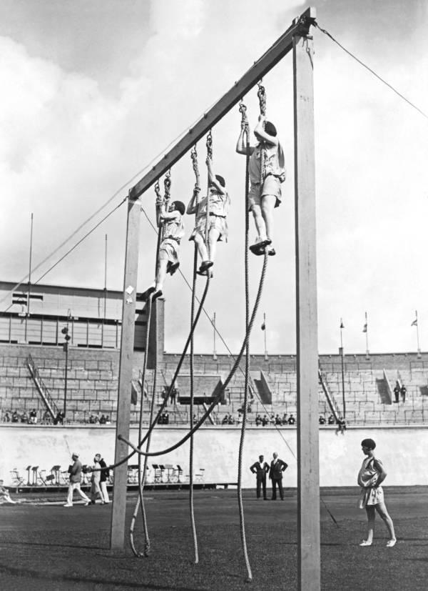 Olympic Rope Climb