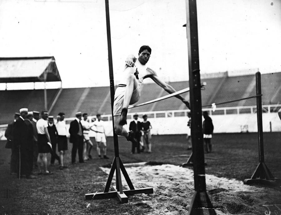 Olympic Standing Jump 1908