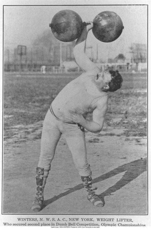 One Handed Weight Lift