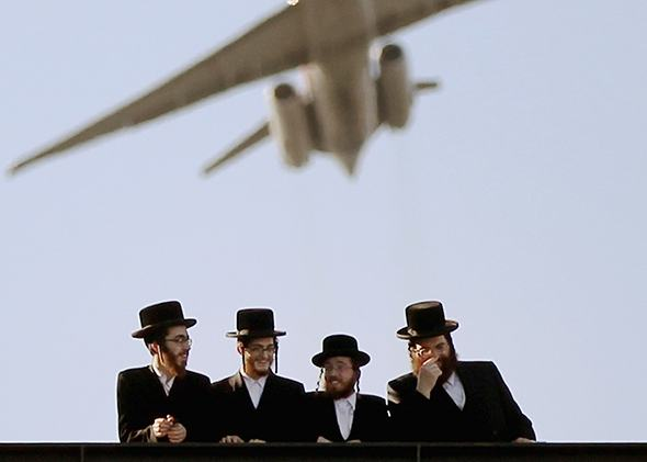 Orthodox Jews Plane Women