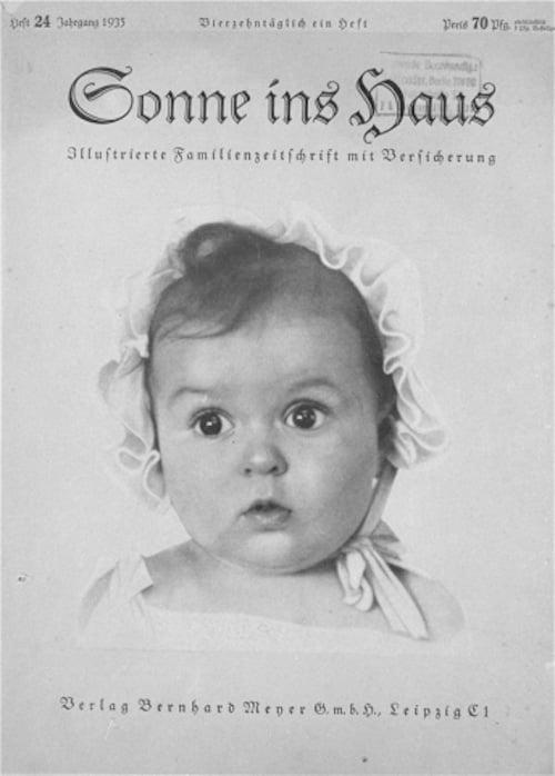 Perfect Aryan Baby Jewish