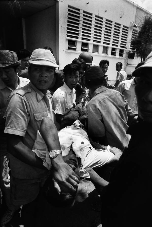 Phnom Penh Injured Civilian