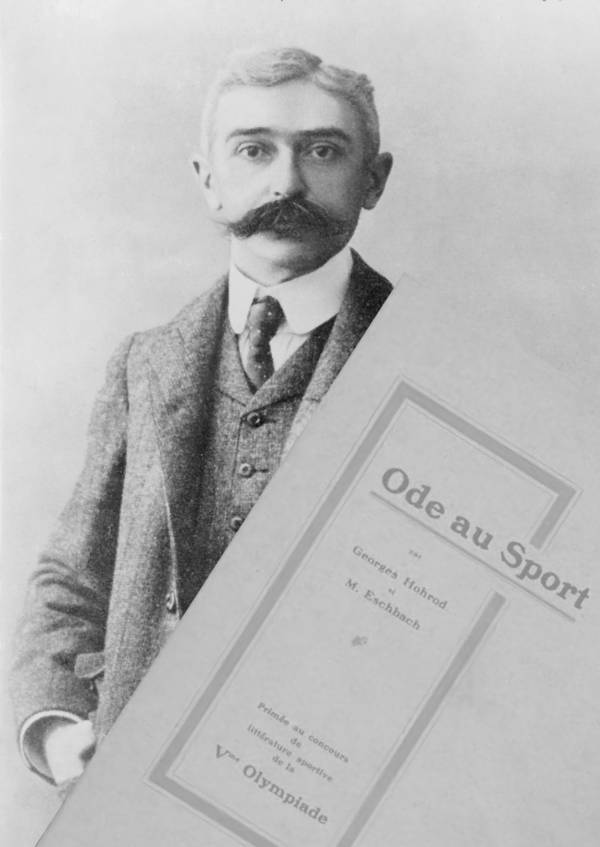 Pierre De Coubertin Literature