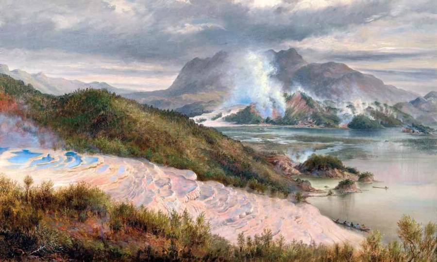 Pink And White Terraces Rediscovered