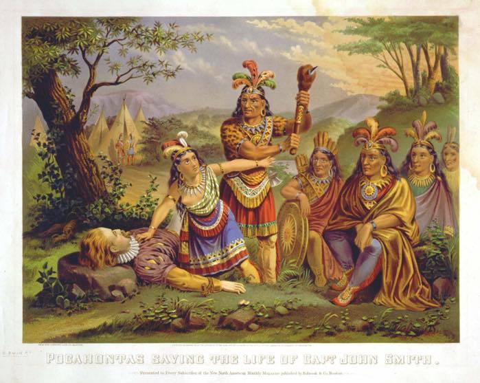 Pocahontas John Smith Myth