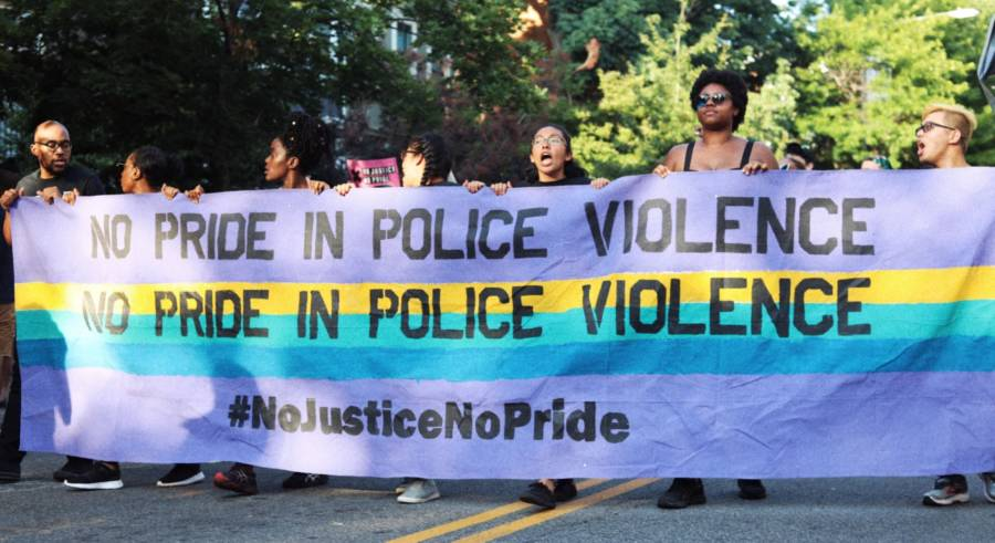 Pride Protests Black Lives Matter