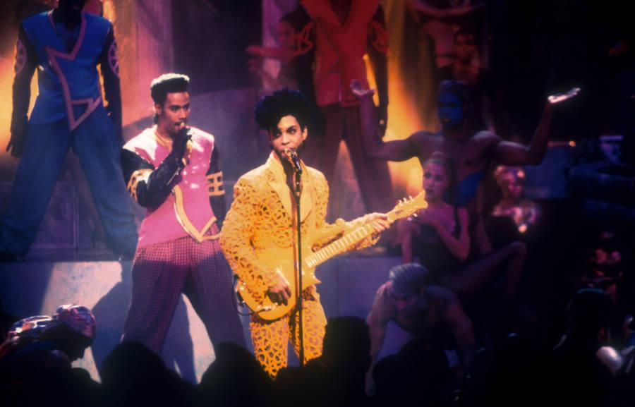Prince Orange Suit