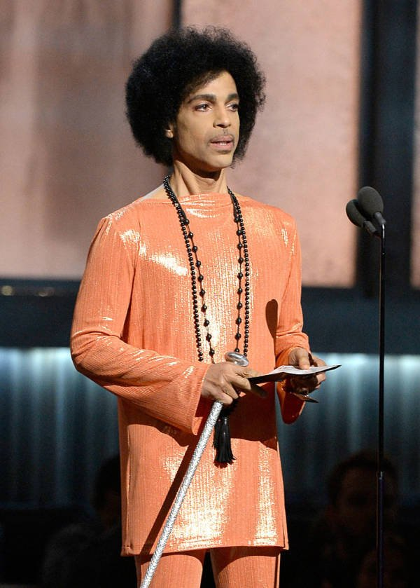 Prince Photos Orange Sparkle