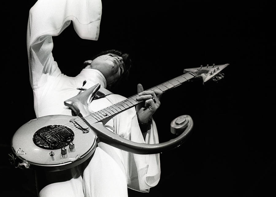 Prince Photos White Sleeve