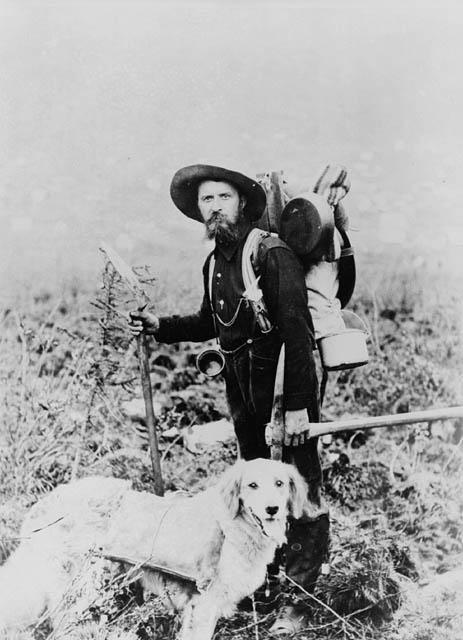 Prospector With Dog