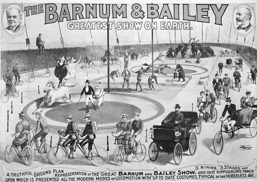 Barnum & Bailey Circus Vintage Ad