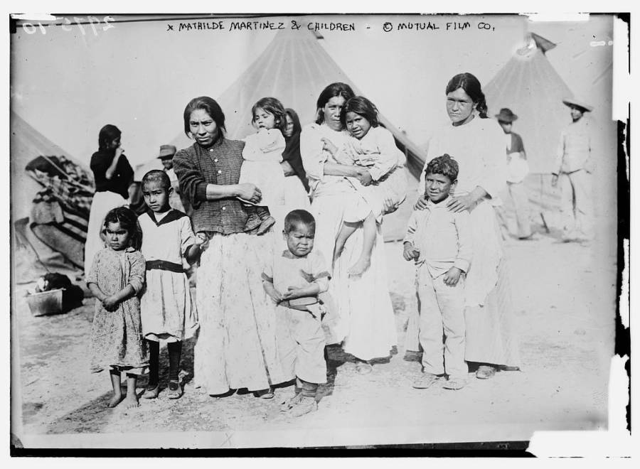 Refugee Family In Texas