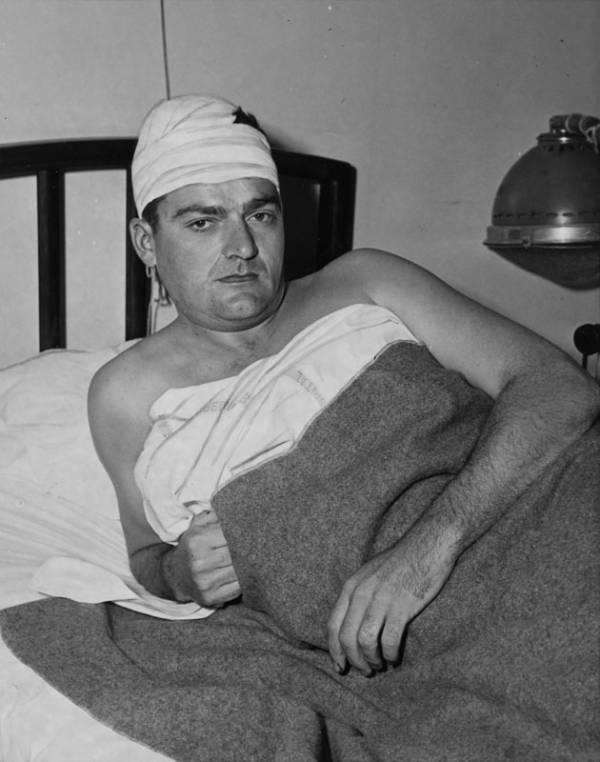 Robert Egan Marine Fractured Skull