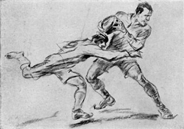 Rugby By Jean Jacoby