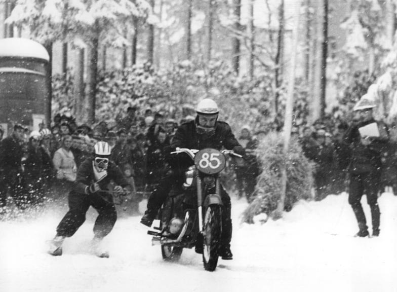 Skijoring 1963 Winter Olympics