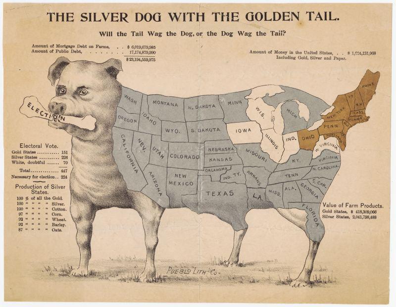 Sliver Dog Golden Tail