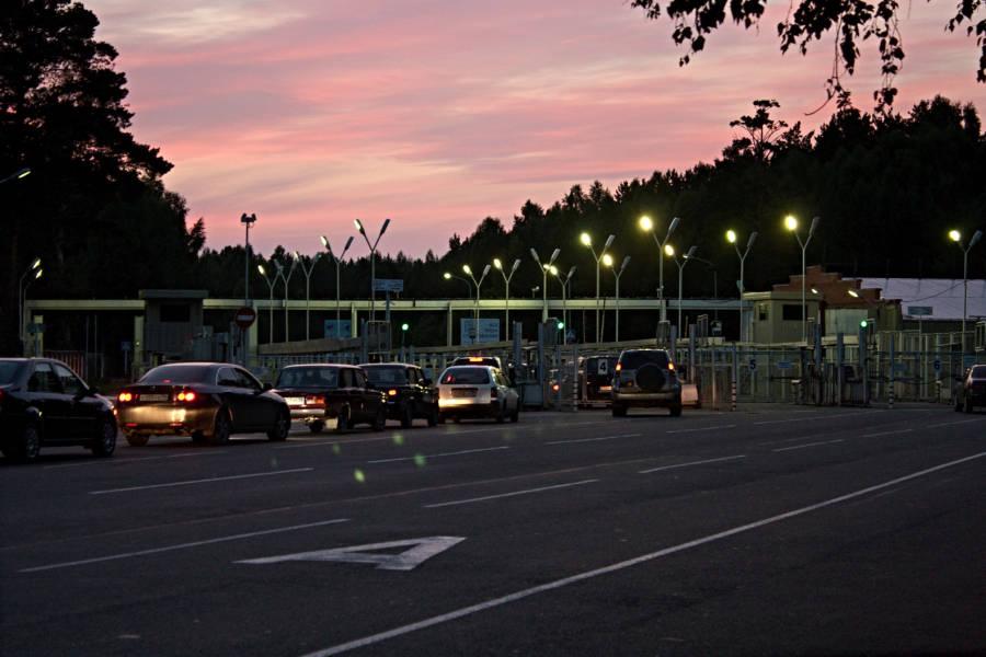 Streetlights Pink Clouds