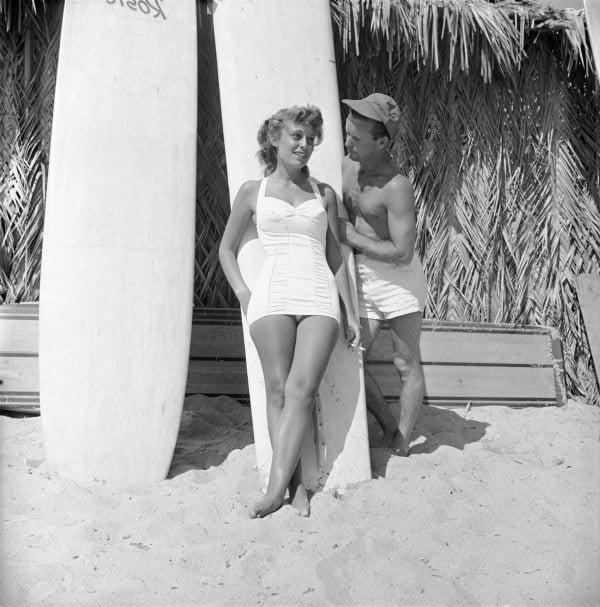 Surfboard Flirting