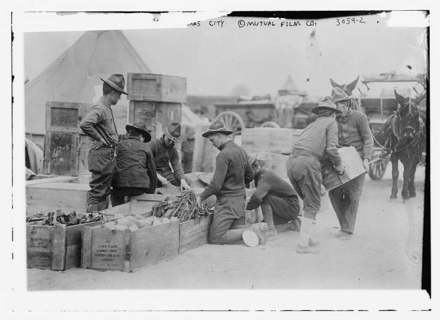 Texas Soldiers Packing