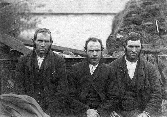 Three Men During Eviction