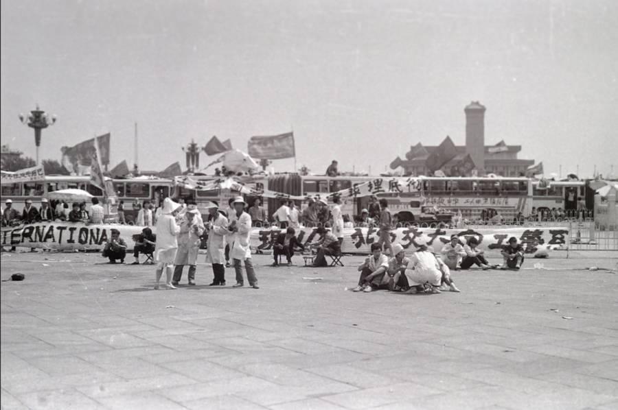 Tiananmen Photos Banner