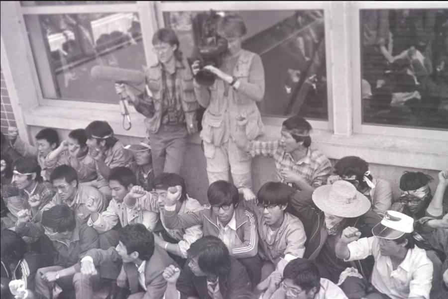 Tiananmen Protest Photos Camera