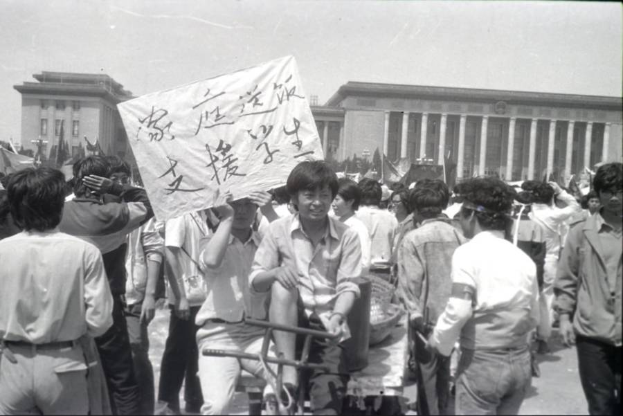 Tiananmen Protest Photos