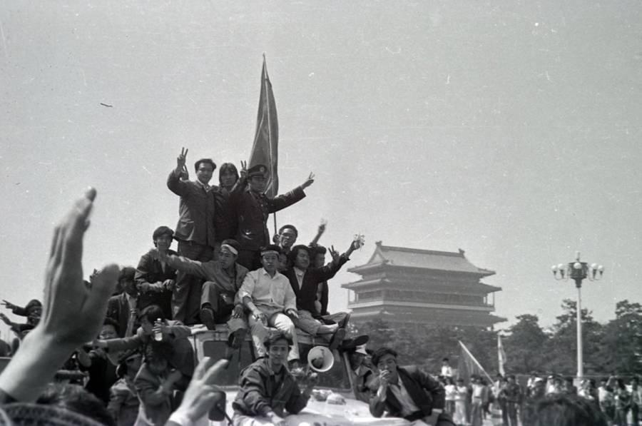 Tiananmen Square Protest David Chen