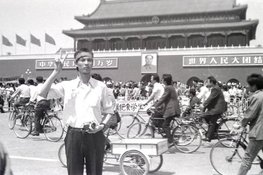 Tiananmen Square Protest Photos