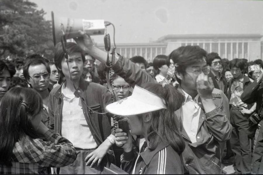Tiananmen Square Protestors Photos