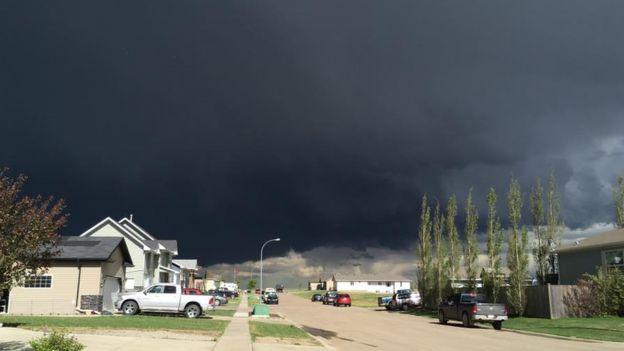 Tornado Lawn Mower Sky