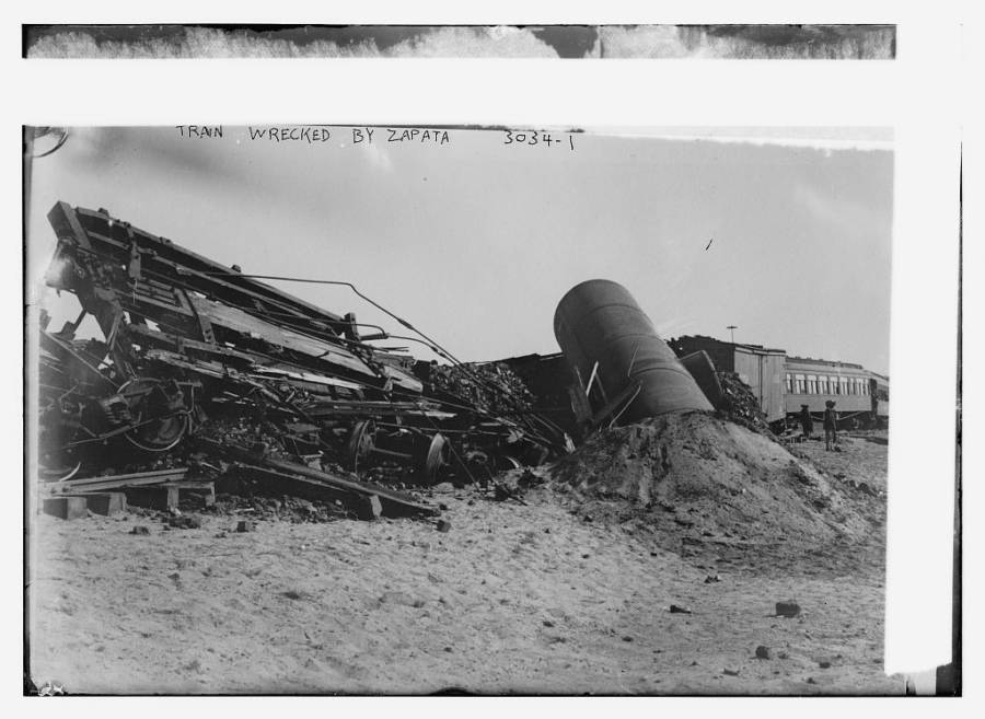 Train Wrecked By Zapata