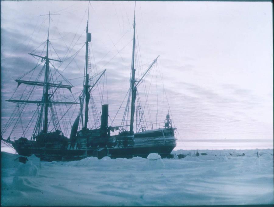Trans Antarctic Boat