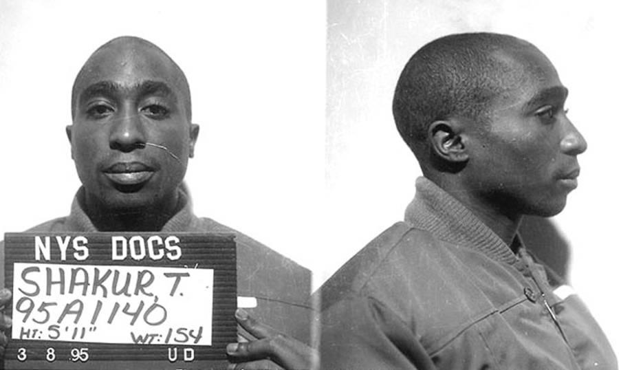 Tupac Shakur Mugshot