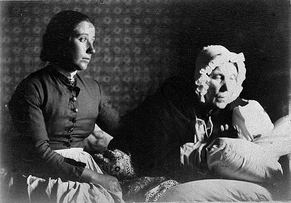 Two Woman At Home