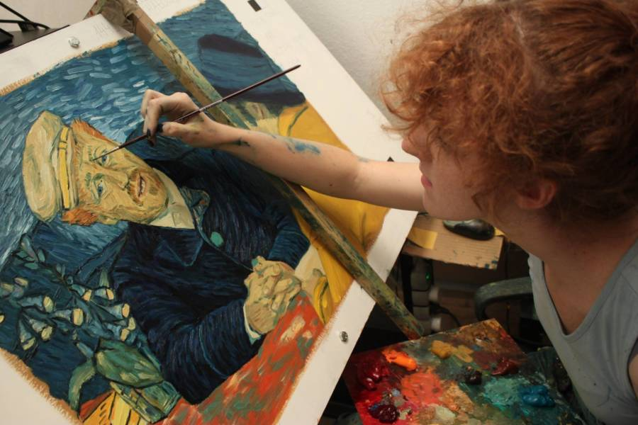 Van Gogh Movie Painter