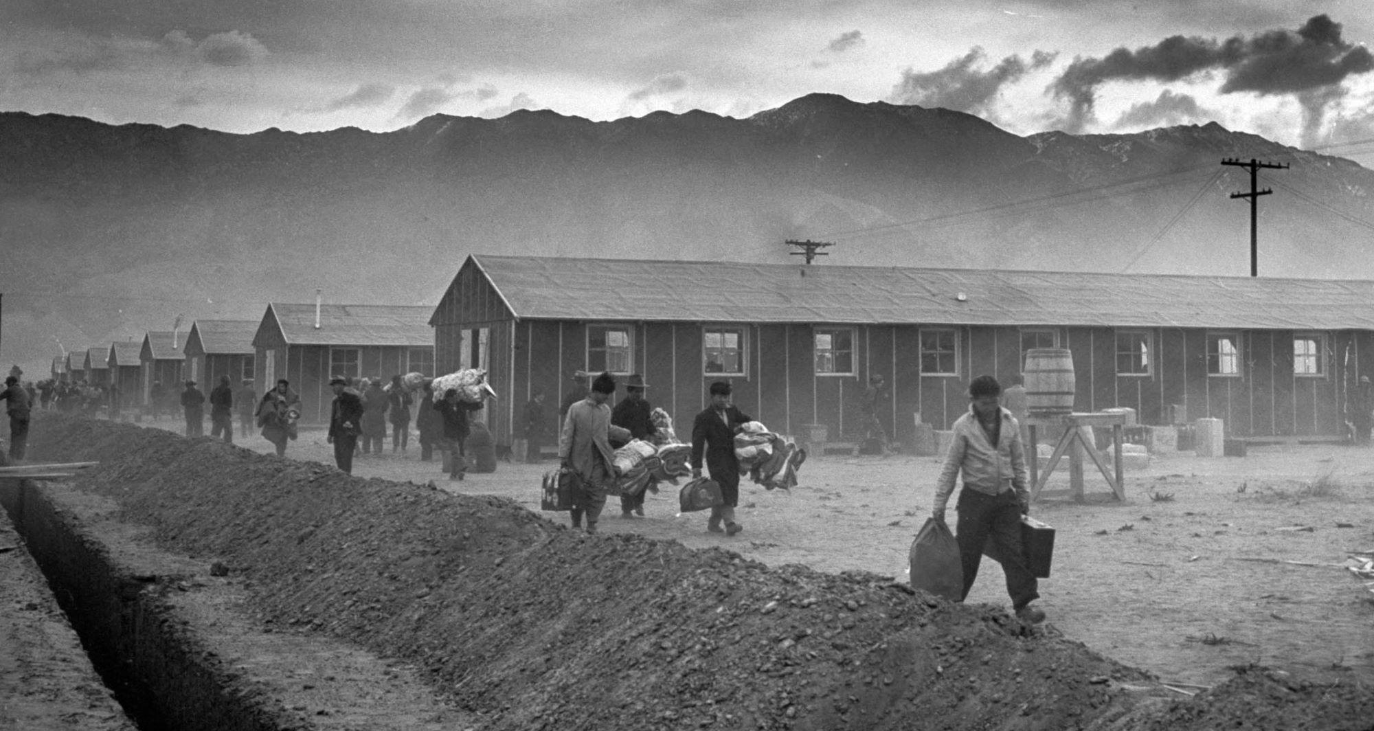 Inside Japanese American Internment Camps The Manzanar Relocatio...