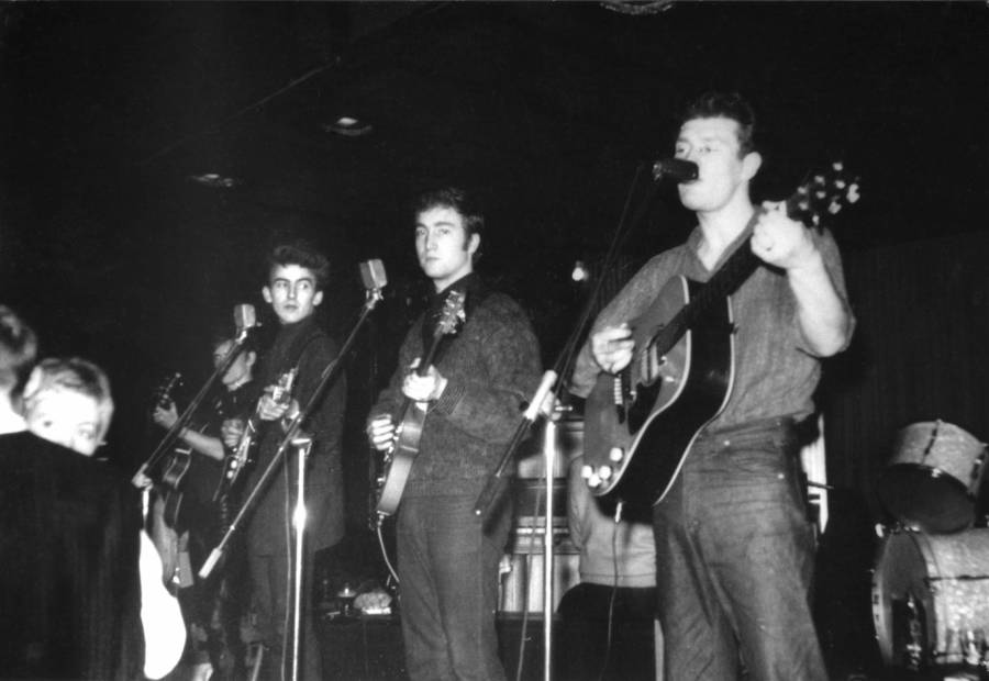 With Tony Sheridan